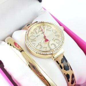NIB! Betsey Johnson Watch